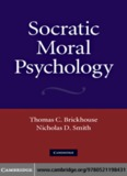 Socratic Moral Psychology