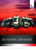 adria motorhomes / adria reisemobile - AC GmbH Autocaravan