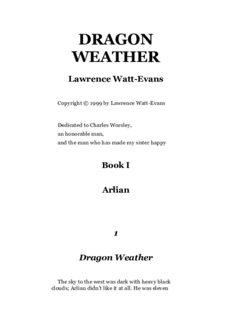 Watt-Evans, Lawrence - Dragon Weather