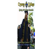 Spring 2014 Class Schedule - Cypress Online - Cypress College
