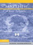 New Cambridge Bible Commentary: Matthew