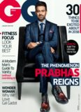 GQ India [January 2018] - feat. Prabhas