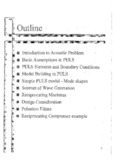 Page 1 Introduction to Acoustic Problem Basic Assumptions in PULS PULS Elements and ...