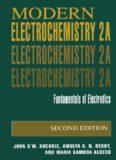 Modern Electrochemistry, Vol 2A : Fundamentals of Electrodics, 2nd edition