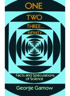 One Two Three... Infinty. Facts & Speculations in Science