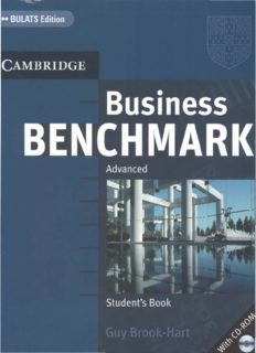 Business Benchmark Advanced Student's Book with Answer Key