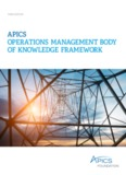 APICS OPERATIONS MANAGEMENT BODY OF KNOWLEDGE