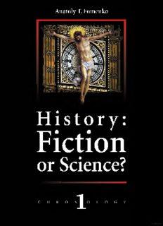 History, Science Fiction – Anatoly Fomenko