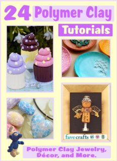 24 Polymer Clay Tutorials  Polymer Clay Jewelry, Home Decor, and More