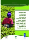 Formation des producteurs agricoles des communes de Malanville, Matéri, Ouaké, Savalou ...