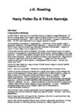 Harry Potter és a Titkok Kamrája   Harry Potter and the Chamber of Secrets