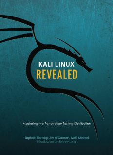 [PDF] Kali Linux Revealed