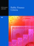 Public Finance Criteria