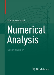 Numerical Analysis (Second Edition)