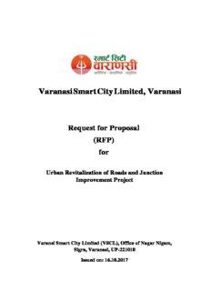 Varanasi Smart City Limited, Varanasi