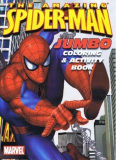 Spider-Man Jumbo Coloring & Activity