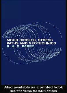 Mohr Circles, Stress Paths and Geotechnics, Second Edition