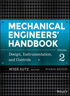 Mechanical Engineers' Handbook, Volume 2: Design, Instrumentation, and Controls