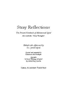 Stray Reflections - Allama Iqbal