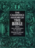 The Cambridge History of the Bible, Volume 1