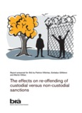 The effects on re-offending of custodial versus non-custodial - Brå