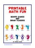 PRINTABLE MATH FUN - Math Board Games