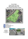 City of Linden Union County, New Jersey Redevelopment Plan