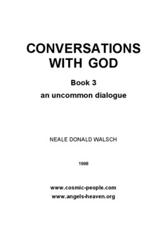 CONVERSATIONS WITH GOD - Law Attraction Haven