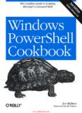 Windows PowerShell Cookbook, Third Edition - All IT eBooks