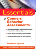 Essentials of Conners Behavior Assessments