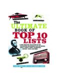 The Ultimate Book of Top Ten Lists - A Mind-Boggling Collection of Fun, Fascinating and Bizarre Facts on Movies, Music, Sports, Crime, Celebrities, History, Trivia and More