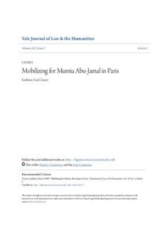 Mobilizing for Mumia Abu-Jamal in Paris
