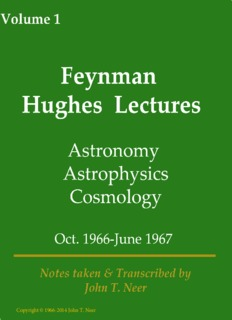 Astronomy, Astrophysics, & Cosmology - The Hughes Lectures