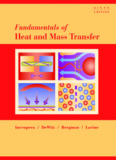 Fundamentals of Heat and Mass Transfer, 6e