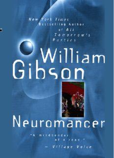 Neuromancer - 20th anniversary edition (keep)