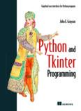 John E. Grayson's ebook Python and Tkinter Programming