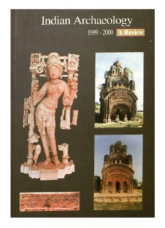 Indian Archaeology 1999-2000 — A Review - Archaeological