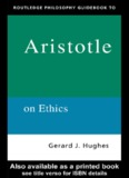 Routledge Philosophy GuideBook to Aristotle on Ethics
