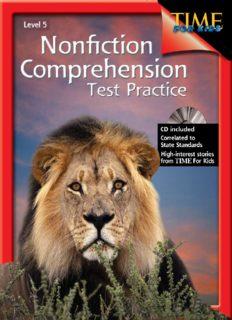 Nonfiction Comprehension Test Practice Gr. 5 W Answer Key