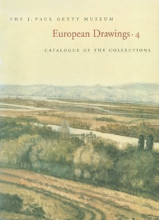 Euopean Drawings-4, Catalogue of the Collections
