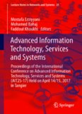 Advanced Information Technology, Services and Systems: Proceedings of the International Conference on Advanced Information Technology, Services and Systems (AIT2S-17) Held on April 14/15, 2017 in Tangier