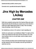 Mercedes Lackey - Tregarde 3 - Jinx High