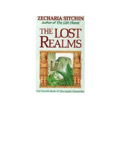 Sitchin-The-Lost-Realms-4th-Book-of-Earth-Chronicles-1990