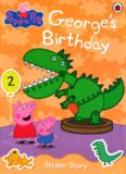 Peppa Pig - Georges Birthday - Sticker Story