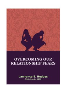 Overcoming our Relationship Fears Breaking the Bondage of Relationship Fears