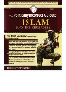 Politically Incorrect Guide To Islam By Robert Spencer