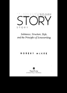 Substance, Structure, Style, and the Principles of Screenwriting
