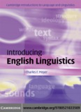 Introducing English Linguistics