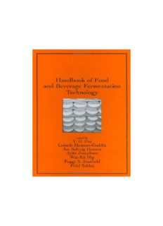 Handbook of Food and Beverage Fermentation Technology (Food Science and Technology, Vol. 134)