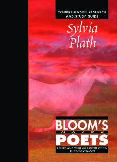 Sylvia Plath: Comprehensive Research and Study Guide (Bloom's Major Poets)